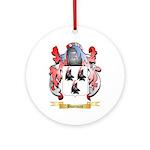 Bootman Ornament (Round)