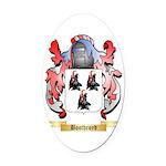 Boothroyd Oval Car Magnet