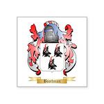 Boothman Square Sticker 3