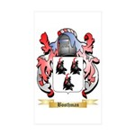 Boothman Sticker (Rectangle 50 pk)