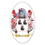 Boothman Sticker (Oval 50 pk)