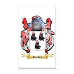 Boothey Rectangle Car Magnet