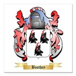 Boothey Square Car Magnet 3