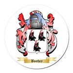 Boothey Round Car Magnet