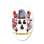 Boothey 35x21 Oval Wall Decal