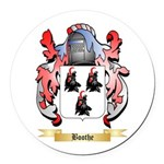 Boothe Round Car Magnet
