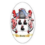 Boothe Sticker (Oval)
