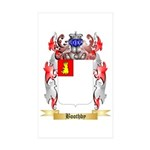 Boothby Sticker (Rectangle 50 pk)