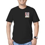 Booth Men's Fitted T-Shirt (dark)