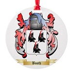 Booth Round Ornament