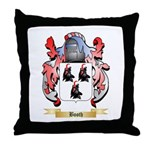 Booth Throw Pillow