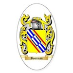 Boorman Sticker (Oval)