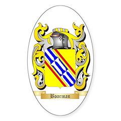 Boorman Sticker (Oval 50 pk)