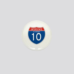 Interstate 10 - AL Mini Button