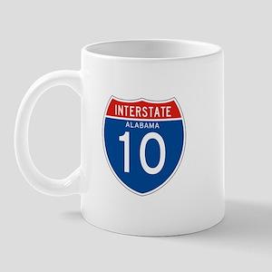 Interstate 10 - AL Mug
