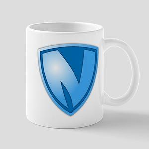 Super N Super Hero Design Mug