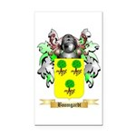 Boomgardt Rectangle Car Magnet
