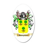 Boomgahren 20x12 Oval Wall Decal