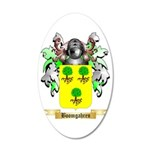 Boomgahren 35x21 Oval Wall Decal