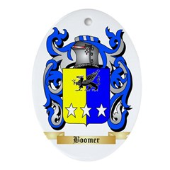 Boomer Ornament (Oval)