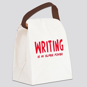 Super Power: Writing Canvas Lunch Bag
