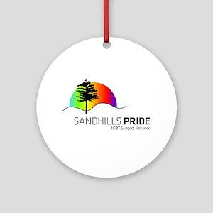 Sandhills Pride logo Ornament (Round)
