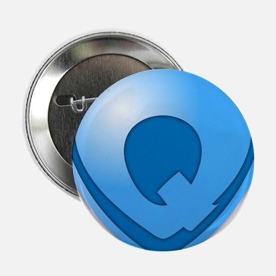 "Super Q Super Hero Design 2.25"" Button"