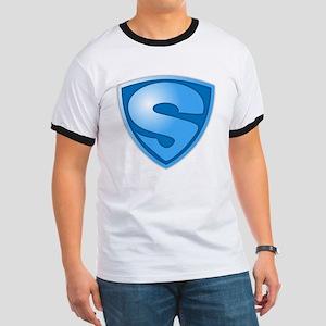 Super S Super Hero Design T-Shirt