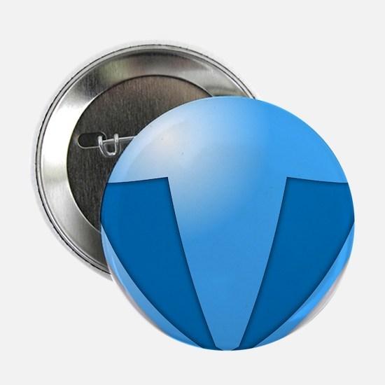 """Super T Super Hero Design 2.25"""" Button"""