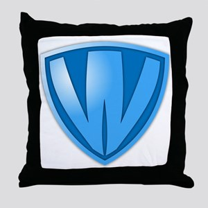 Super W Super Hero Design Throw Pillow