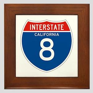 Interstate 8 - CA Framed Tile