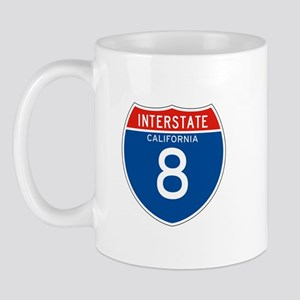 Interstate 8 - CA Mug