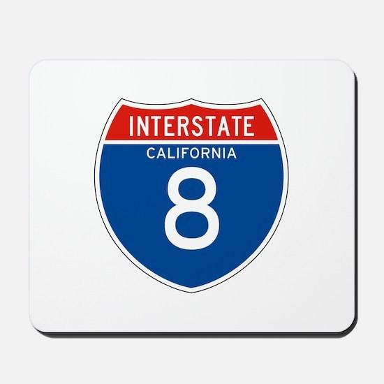 Interstate 8 - CA Mousepad