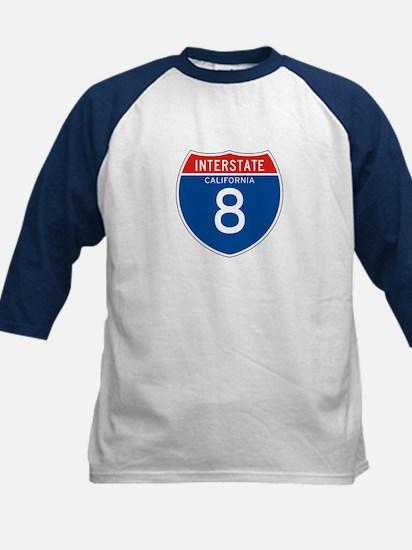 Interstate 8 - CA Kids Baseball Jersey