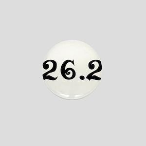 26.2 Marathon Mini Button