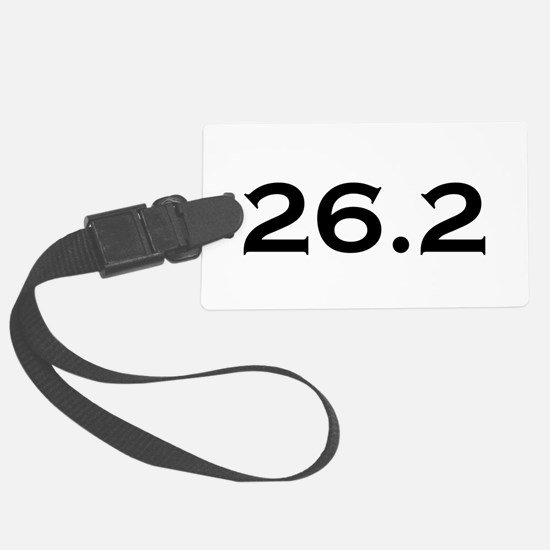 26.2 Marathon Luggage Tag