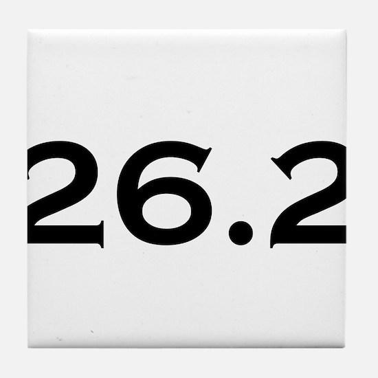 26.2 Marathon Tile Coaster