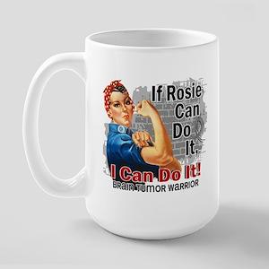 If Rosie Can Do It Brain Tumor Large Mug