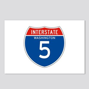 Interstate 5 - WA Postcards (Package of 8)