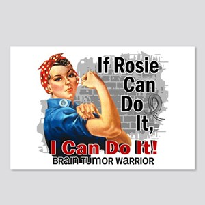 If Rosie Can Do It Brain Tumor Postcards (Package