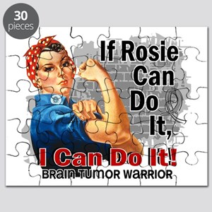 If Rosie Can Do It Brain Tumor Puzzle