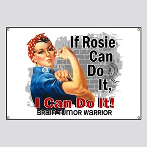 If Rosie Can Do It Brain Tumor Banner