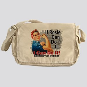 If Rosie Can Do It Brain Tumor Messenger Bag