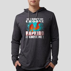 I DIDN'T CHOOSE HAPKIDO SHIRT Mens Hooded Shirt