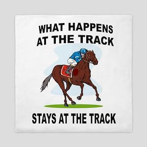 HORSE RACING Queen Duvet