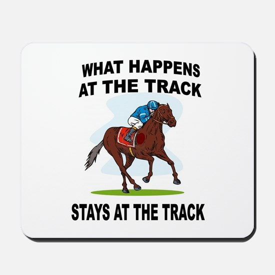 HORSE RACING Mousepad