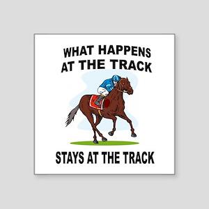 HORSE RACING Sticker