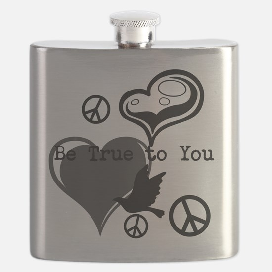 Cute Personal peace Flask
