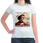 Be An ARMY Nurse Jr. Ringer T-Shirt