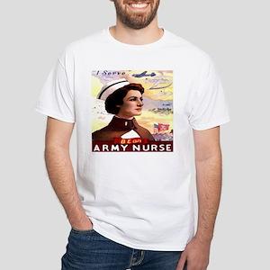 Be An ARMY Nurse White T-Shirt